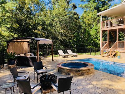 Photo for New Listing! Getaway Resort in the Forest��25 minutes to Fort Benning��8 Rooms��
