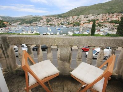 Photo for Three bedroom apartment with balcony and sea view Dubrovnik