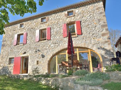 Photo for Two large capacity cottages 5 and 7 people in the foothills of Tanargue