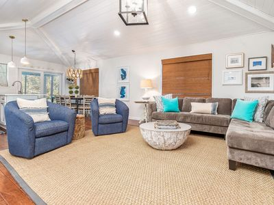 Newly Renovated, Charming 2 Story Beach Home with 4 Full Baths, Only 5 Houses from Beach!
