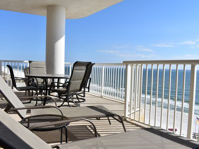 Photo for #801 - Beautiful Gulf Front 8th floor/3BD 3BA/Large Balcony/Keyless Entry