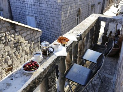 Photo for Apartment Carmel Offers Luxury Old Town Apartment With Balcony