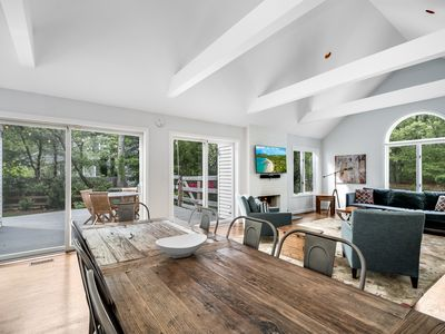 Photo for Bridgehampton Contemporary  Designer Decorated + COMPLIMENTARY POOL HEATING!