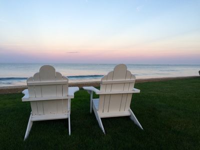Photo for Breathtaking Beach House Perfect for a Family Getaway - Right on the Beach!
