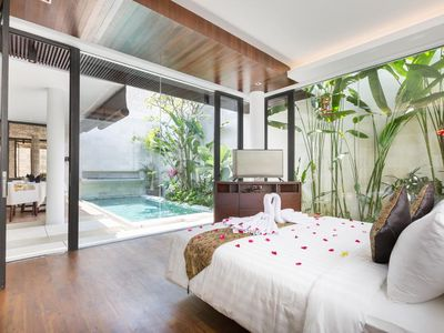 Photo for Jimbaran Villa 1 BR Garuda Wisnu Kencana View