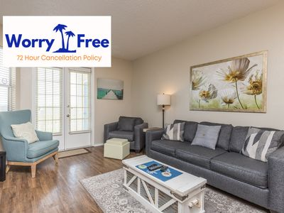 Photo for Beautiful second floor condo in one of the closest buildings to the Beach!