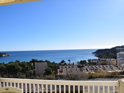 Photo for APARTMENT PAHER, A S'AGARÓ WITH SEA VIEW, POOL AND COMMUNITY TENNIS