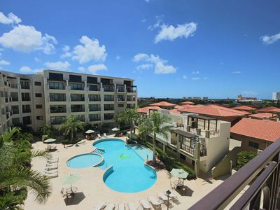 Photo for Enjoy Aruba's Breeze and Scenic views from your Balcony, Unique Condo in Beautiful Resort