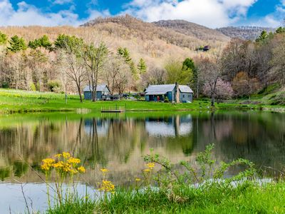 Photo for Oxbow Farms, a charming and private farmhouse near Asheville NC