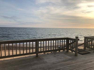 Photo for Directly on the Ocean with private beach and brand new renovations!