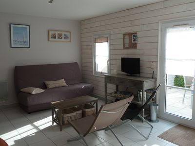 Photo for 1BR Apartment Vacation Rental in st martin de re