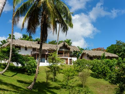 Photo for Casa Bamboulita - 5 bedroom villa with sea views in the middle of nature