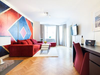 Photo for One bedroom apartment deluxe with balcony   C