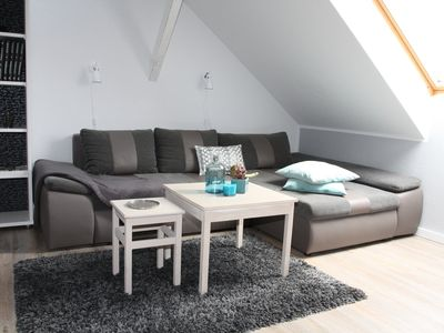 Photo for Apartment 1- attic - Ferienwohnung Bauhausblick