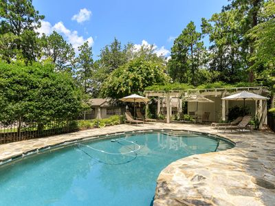 Photo for The Yellow Rose Cottage- 4BR/3BA and a Pool (Sleeps 8+) Village of Pinehurst