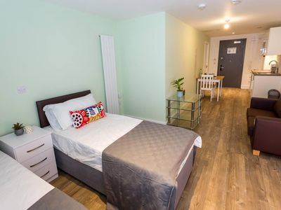 Photo for Cosy studio apartment in the heart of Oldham