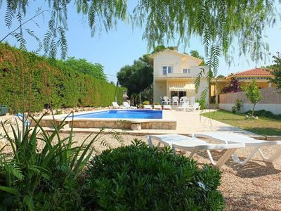 Photo for Spacious villa with private pool, only 20mins walk to the beach, air-con & WIFI
