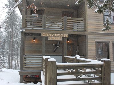 Photo for Gray Goose-Spacious Gilded Mountain Cabin For Your Next Adventure