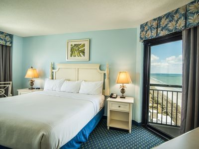 Photo for Perfect Winter Beach Getaway. Oceanfront Resort. On-Site Dining. Free WiFi. Family Fun!!