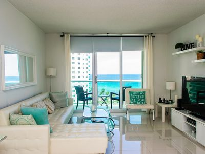 Photo for One Bedroom/One Bath Directly Ocean View -Hollywood-