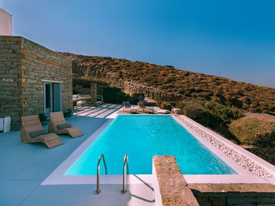 Photo for Fantastic stone villa with a swimming pool and amazing sea view