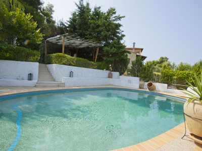Photo for Bozis Private Pool Villa, Siviri