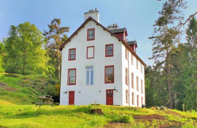 Photo for Bunrannoch House is a large, Victorian hunting lodge which stands proudly in its large grounds
