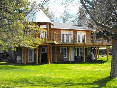 Photo for Spectacular View on 4 Acres, Family Oasis and Walk to Wineries
