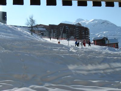 Photo for Studio cabin 4 people Asters foot of the slopes Les Menuires