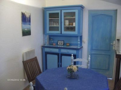 Photo for 40m2 1st floor apartment, near the center of Saumur