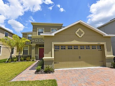 Photo for Beautiful 5 Bed Gated Pool Home At Providence Resort