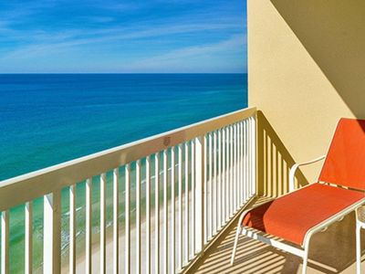 Photo for 18th Floor beautiful beach front condo with a great view for a family of six!
