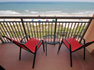 Photo for Spectacular Views from this BRAND NEW Oceanfront Golden Mile Caravelle Condo