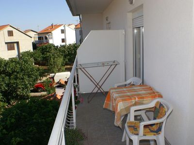 Photo for Studio flat with balcony and sea view Brodarica, Å ibenik (AS-4239-a)