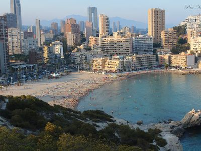 Photo for Great apartment on the beach Benidorm POOL
