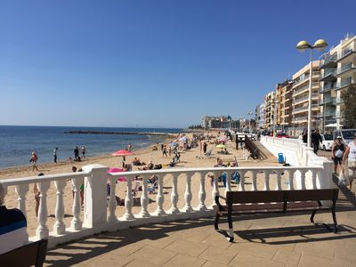 Photo for INCREDIBLE 1st Line Beach Apartment - Sea View