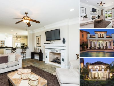 Photo for Golf View/Movie Room/Pool & Spa/Close to Disney/Well Furnished/Sleeps 12/WIFI