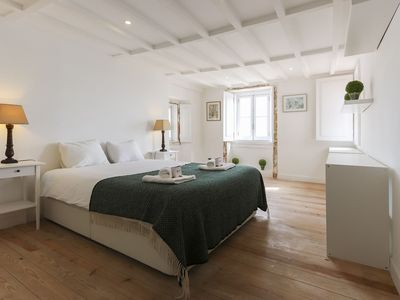 Photo for Cosy apartment in the heart of Alfama for 4 persons with a view from the bedroom