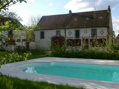 Photo for Great charming house, private pool, very large garden, 8-12 pers
