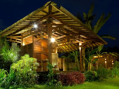 Photo for Bungalow 1, Eco Wooden Bungalow in Jogja