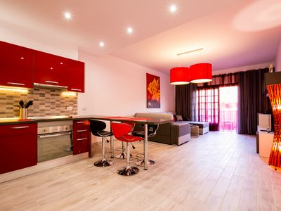 Photo for Large modern luxury apartment, Los Cristianos, Tenerife