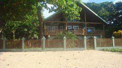 Photo for Beach Front Home: Come And Enjoy The Beautiful Island Of Roatan//REDUCED RATES
