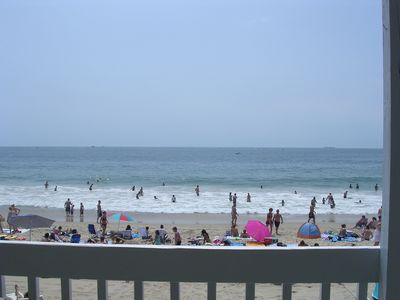 Photo for Beach Front 2 Bedroom Condo   Sat 6/29 - Sat 7/6