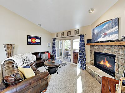 Photo for New Listing! Charming End-Unit Townhome w/ Garage & Private Hot Tub