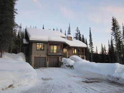 Photo for True Ski In/Ski Out 1 Bedroom Suite Mountain View Home, Lookout Ridge- Sun Peaks
