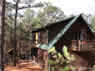 Photo for The Nest - Secluded Couples Cabin