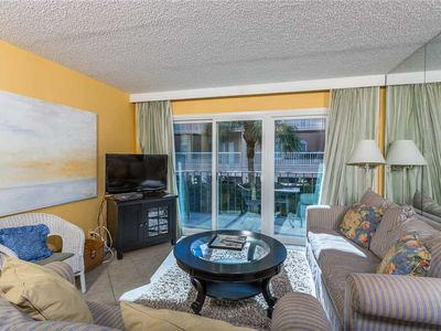 Photo for Spacious and Oceanfront Condominium with Pool, Beach Access, Fitness Center, Tennis