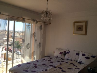 Photo for Fresh, fully equipped three room apartment on two levels with balconies and pool near the sea