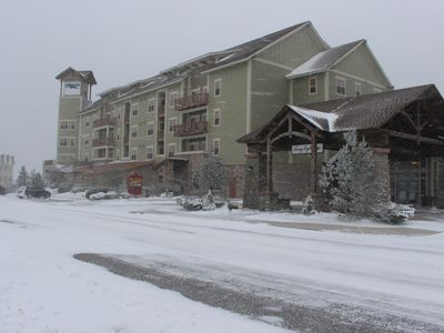 Photo for Soaring Eagle Lodge 216- Ski In/Out, Hot Tub, Ski Locker, Heated Parking!