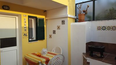 Photo for Near Lisbon (Montijo) ground floor with its sunny patio. air-conditioned